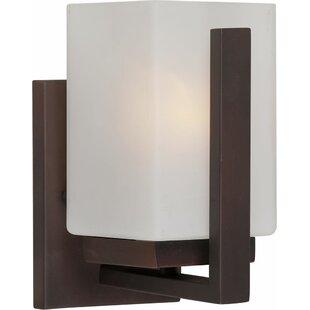 Ebern Designs Mcmaster 1-Light Bath Sconce