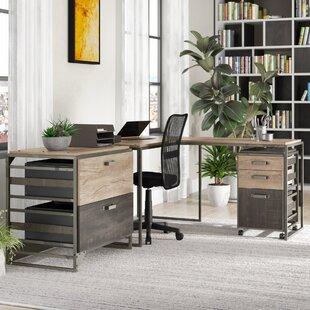 Greyleigh Edgerton 3 Piece L-Shaped Desk ..