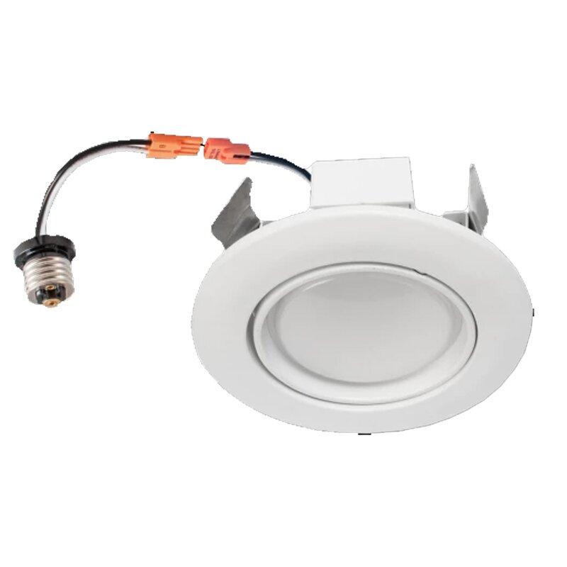 Wen Lighting 6 Remodel Led Retrofit Recessed Lighting Kit Wayfair