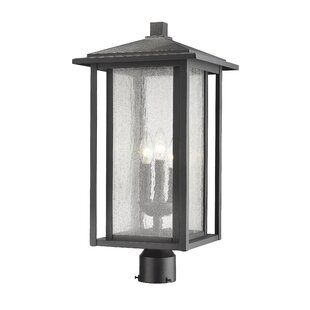 Shopping for Hungate Outdoor Mount Fixture 1-Light LED Lantern Head By Bloomsbury Market