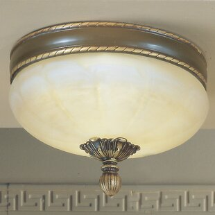Alexandria II 3-Light Semi-Flush Mount by Classic Lighting