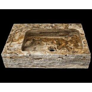 Compare prices Onyx Rectangular Vessel Bathroom Sink ByPolaris Sinks