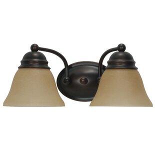Poneto 2-Light Vanity Light by Charlton Home