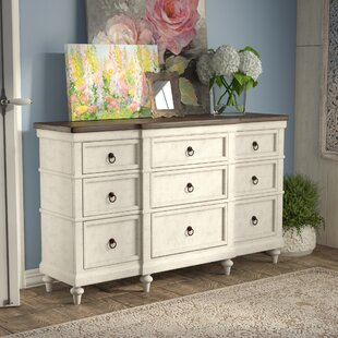 Lark Manor Bruyere 9 Drawer Dresser