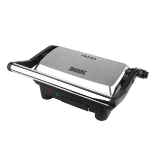 Courant 2-Serving Panini Press and Sandwich Griddler