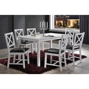 Bonny Cross Back 7 Piece Dining Set by DarHome Co #2