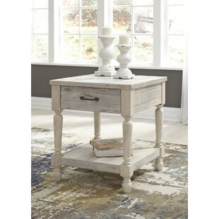 Low priced Theron End Table By Highland Dunes