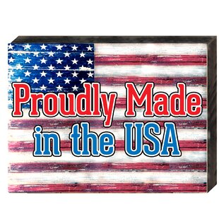 2722029e91c1 Made in USA on Board Wall Décor