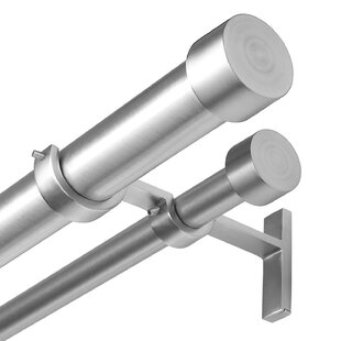 Cappa Solutions Curtain Rod Set (Set of 2) by Umbra