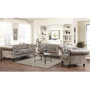 Brooklyn 3 Piece Living Room Set