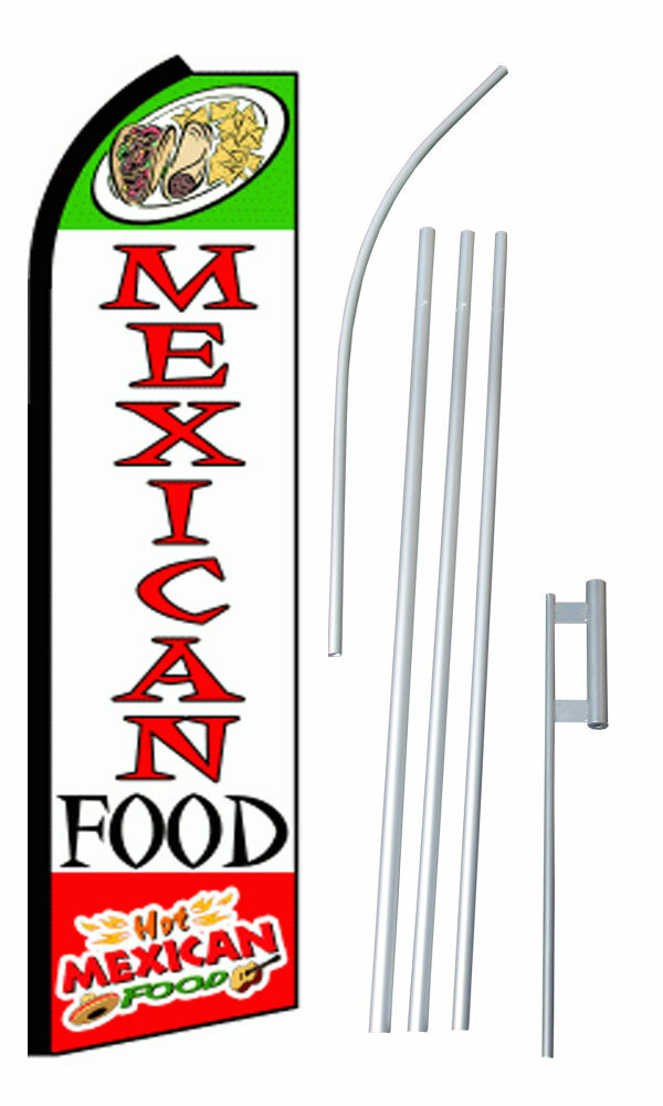 Neoplex Mexican Food Polyester 180 X 30 In Flag Set Wayfair