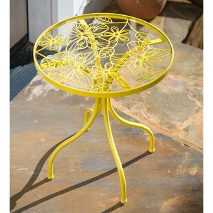 Butterfly Metal Side Table