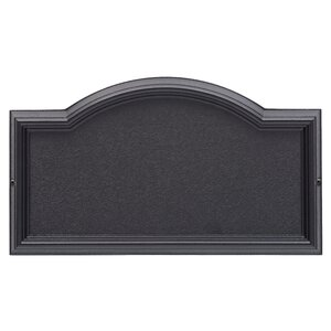 Design-it 1-Line Wall Address Plaque