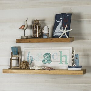 Cedar True 2 Piece Floating Shelf Set