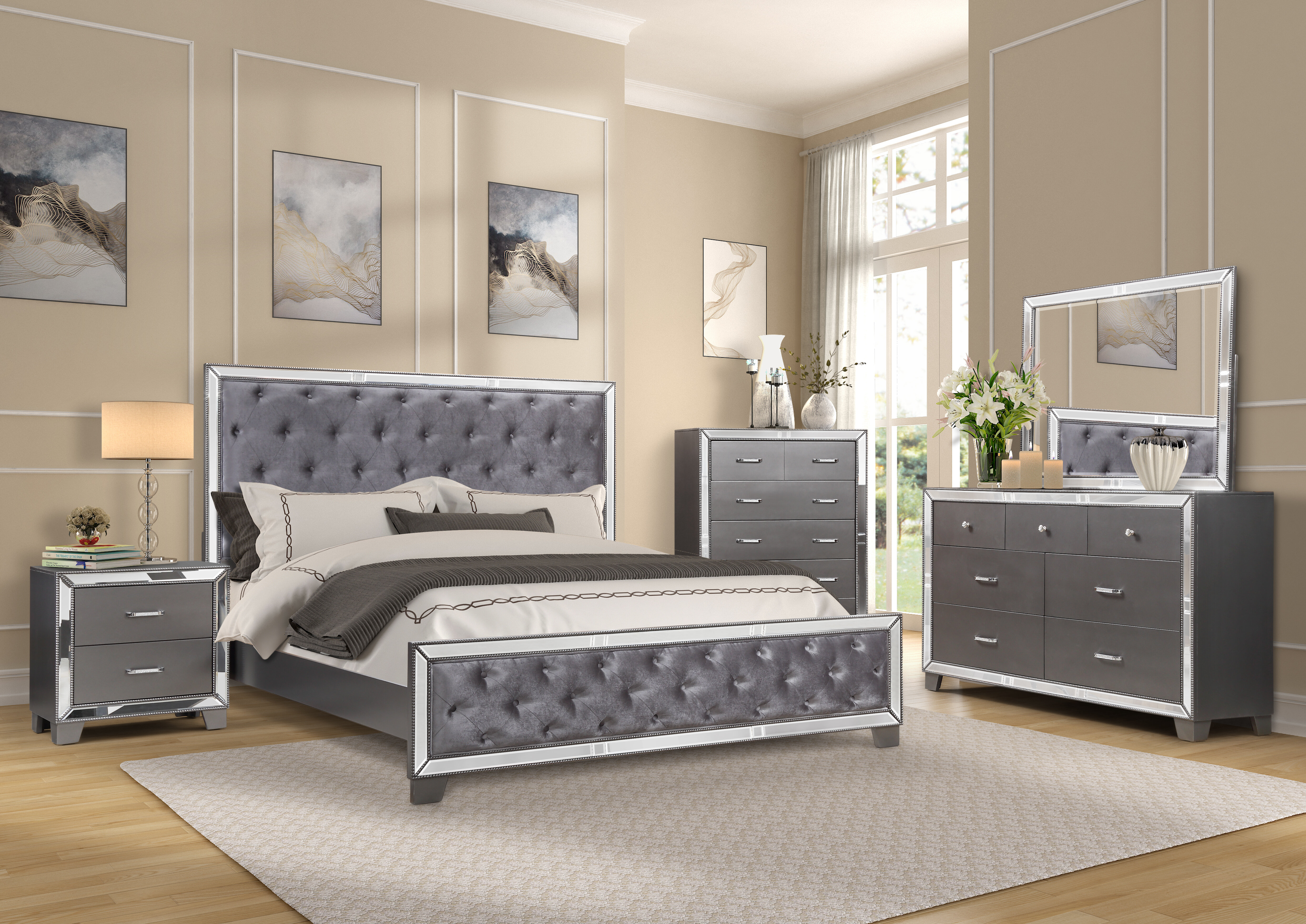 Wayfair Glam Bedroom Sets You Ll Love In 2021