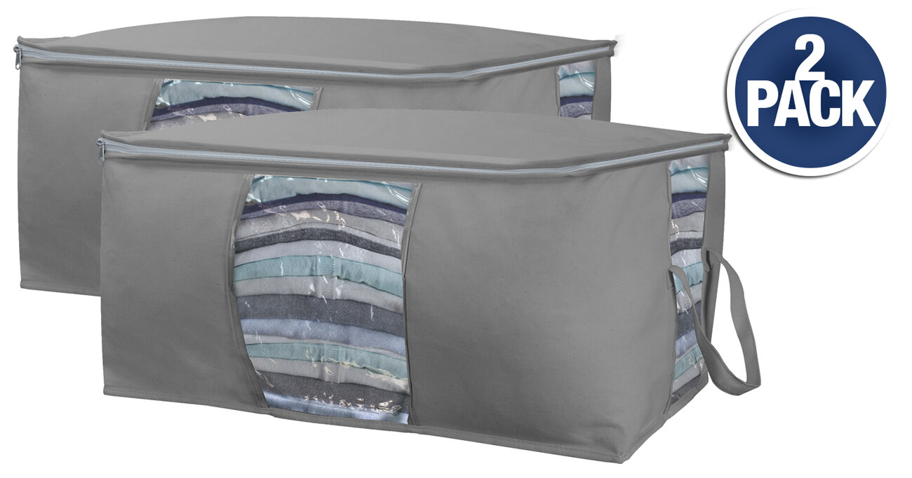 407bf53d5be5 Canvas Underbed Storage Bag