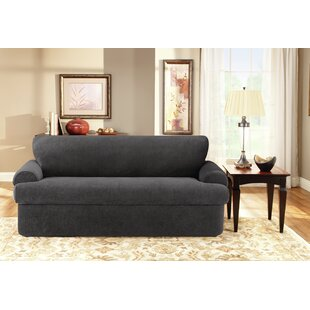 Sure Fit 3 Piece T-Cushion Sofa Slipcover