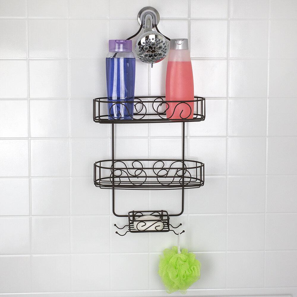 Rebrilliant Broderick Shower Caddy Reviews Wayfair