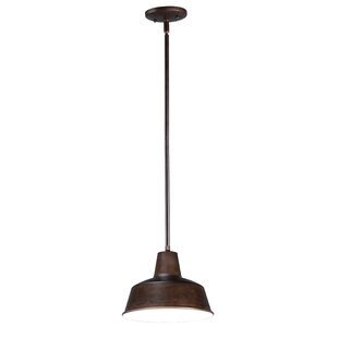 Look for Bernadine 1-Light Dome Pendant By Gracie Oaks