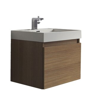 Quan Wall Mounted Single Vanity Unit By 17 Stories