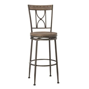 Barlow 26 Swivel Bar Stool by Fleur De Lis Living