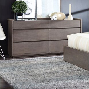 Keomi 6 Drawer Double Dresser