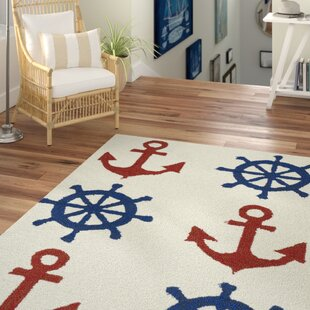 Sereno Handmade Rectangle Ivory Indoor/Outdoor Area Rug