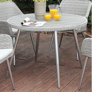 Ritz Metal Dining Table by Gracie Oaks Purchase