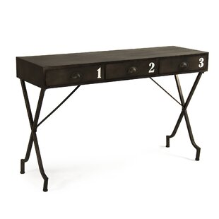 Cassady 3 Drawer Writing Desk