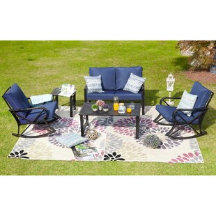 Best Strachan 5 Piece Sofa Seating Group with Cushions Compare prices