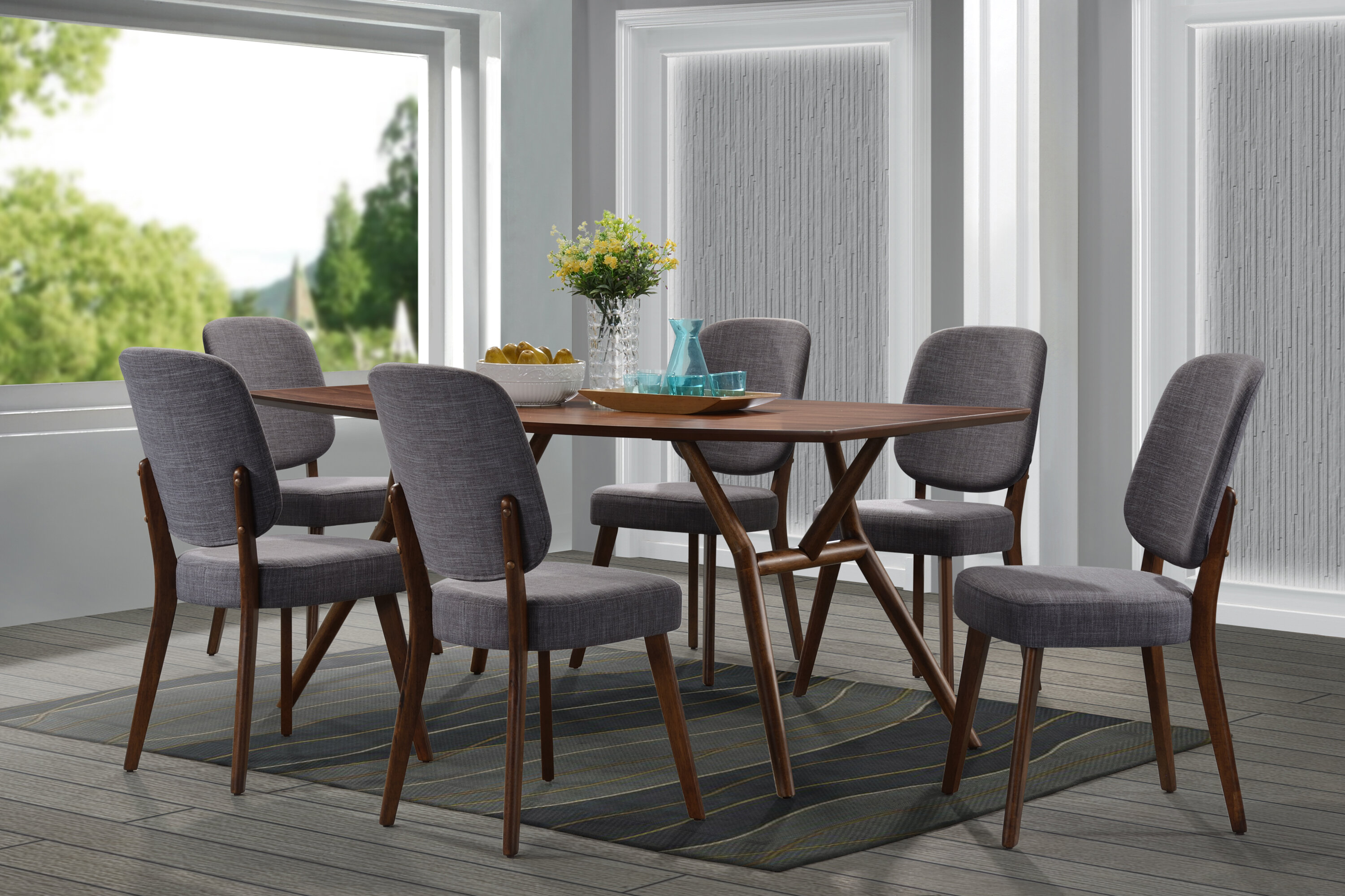 Dana 7 Piece Dining Set Allmodern