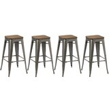 Talia 30 Bar Stool (Set of 4) by Williston Forge