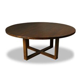 Union Rustic Nusbaum Solid Wood Dining Ta..