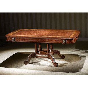 Priston Solid Wood Dining Table by Astoria Grand 2019 Sale