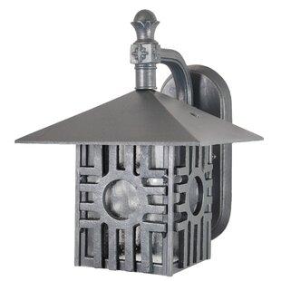 Penfield 1-Light Outdoor Wall Lantern by Alcott Hill