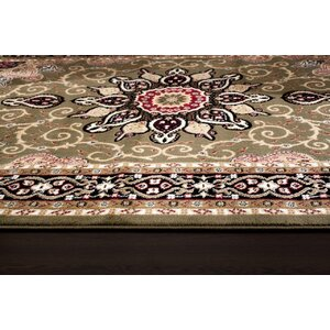 Gwinn Green Indoor/Outdoor Area Rug
