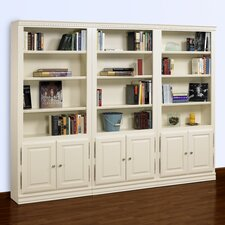Hampton 84 Oversized Set Bookcase by A&E Wood Designs