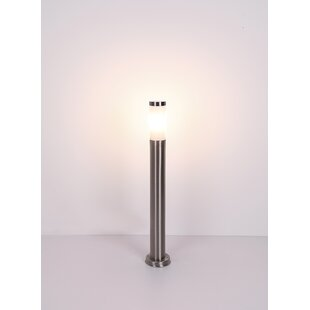 Yuri Silver Plug-In LED Outdoor Floor Lamp By Freeport Park