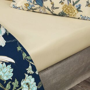 Charlton Home Haslingden 220 Thread Count 100% Cotton Fitted Sheet