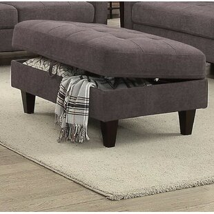 Rives Storage Ottoman by Charl..