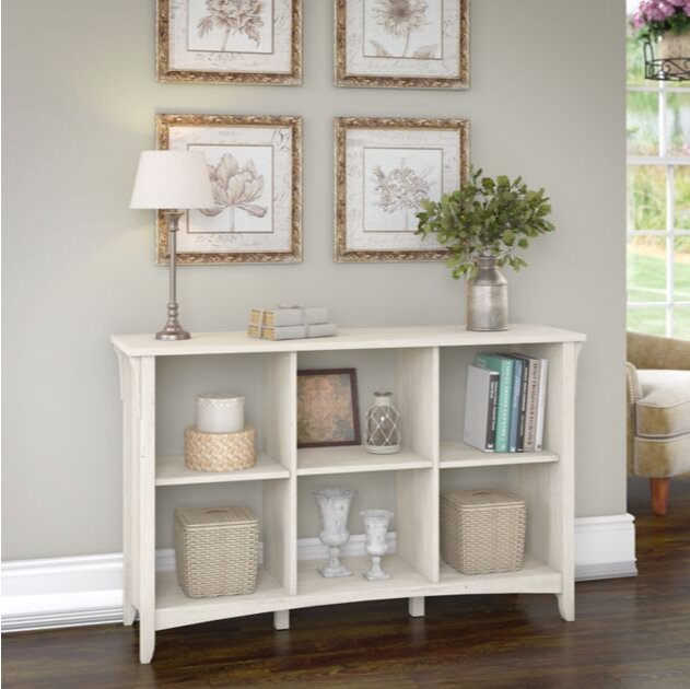 Broadview Cube Unit Bookcase In Antique White