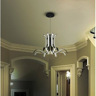 Orren Ellis Northview WiFi-Enabled Tunable 8-Light LED Novelty Chandelier