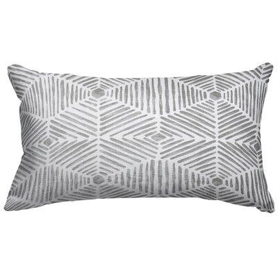 Trule Teen Ashby Cotton Lumbar Pillow Color: Gray