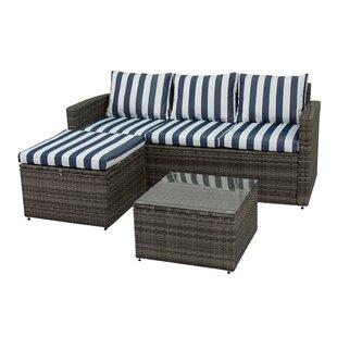 Delicieux Ridgemoor 3 Piece Sofa Set With Cushions