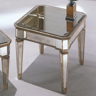 Roehl Mirrored End Table i..