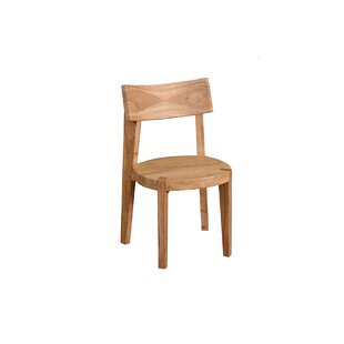 Ibolili Frozen Solid Wood Dining Chair