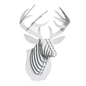 Bucky Deer Bust Wall Du00e9cor