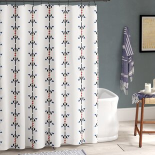 Bridgehampton Stripe Print Single Shower Curtain