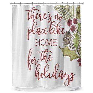 Look for No Place Like Home 72 Shower Curtain ByKAVKA DESIGNS