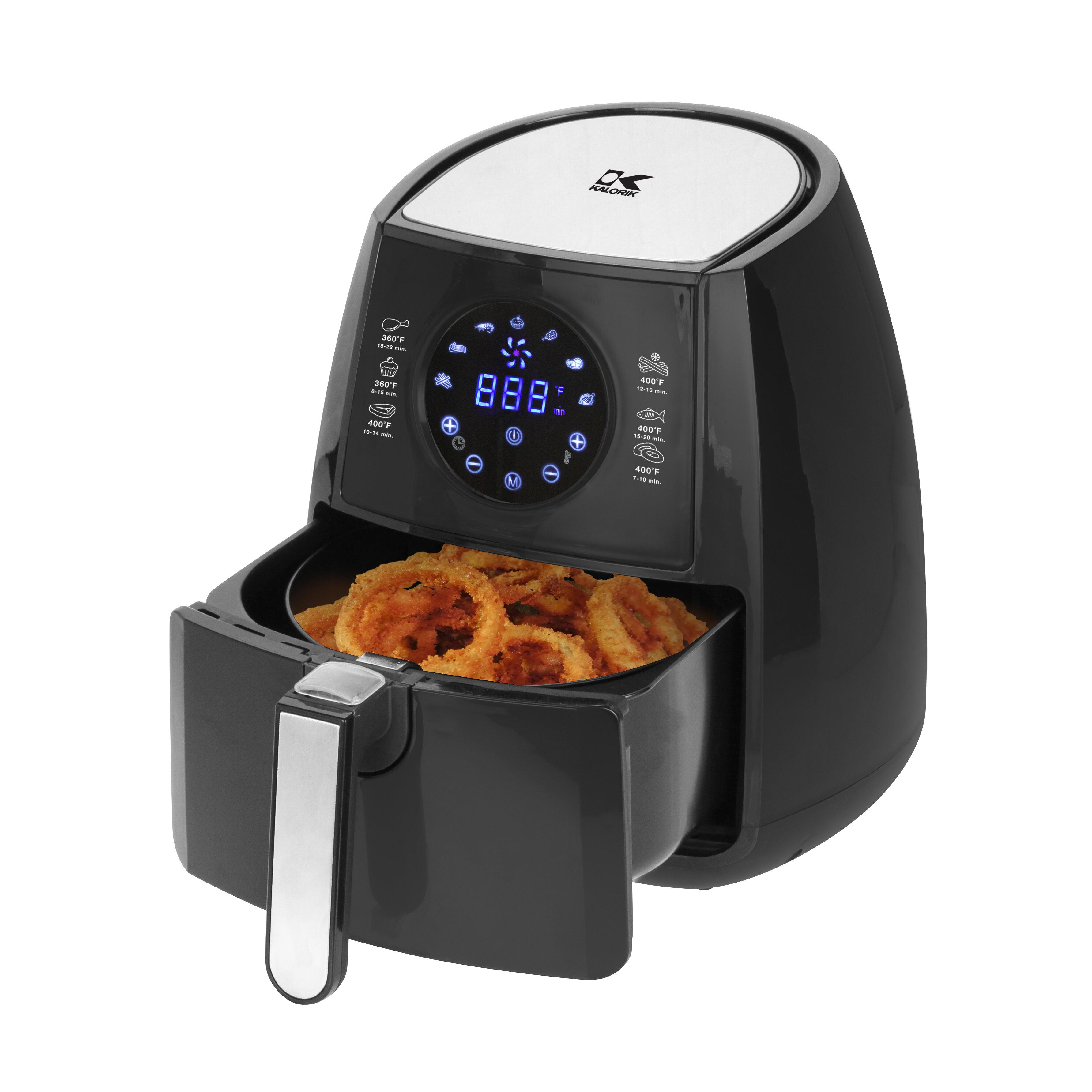 Kalorik 2 Liter Digital Air Fryer with Pie Pan & Reviews | Wayfair